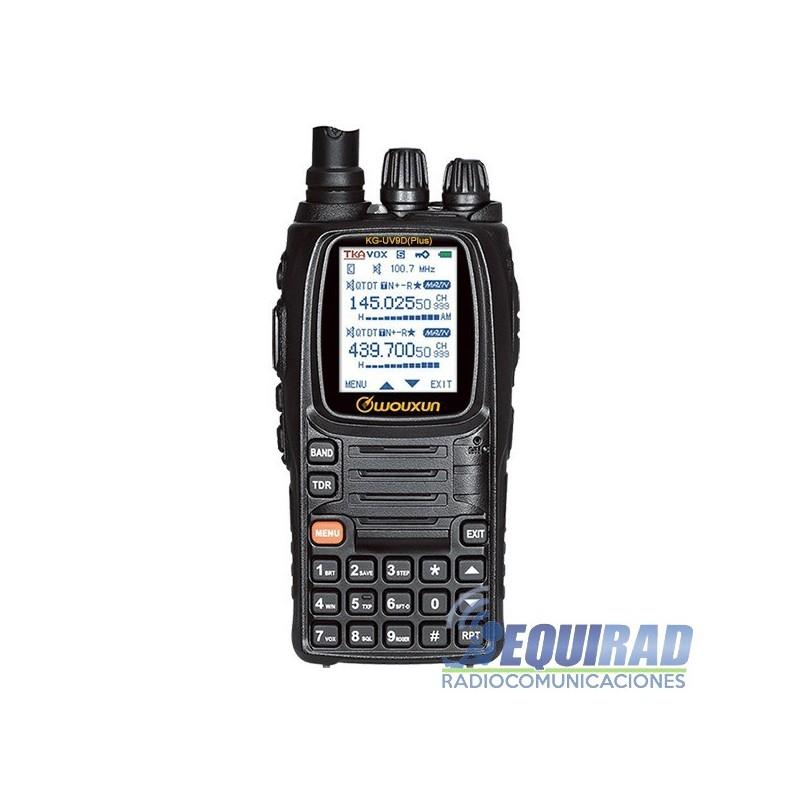 Radio Portátil WOUXUN, Dual-Band, KG-UV9D Plus