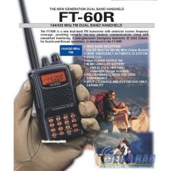FT 60R, Yaesu Portátil Dual Band