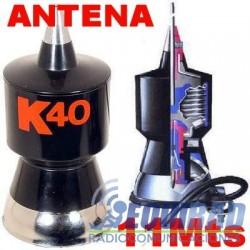 K 40 Antena CB, Para 11 Mts.