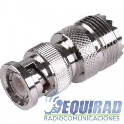 RFB1136 Adaptador BNC Macho a PL Hembra