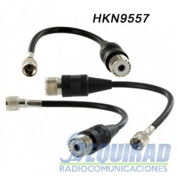 HKN9557 Adaptador Mini UHF a SO239,