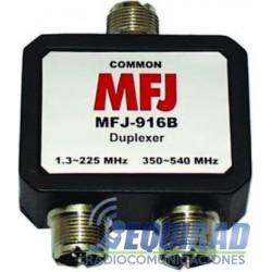 MFJ-916B Duplexor Para Separar Antenas o Equipos