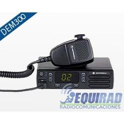 DEM 300 Base Móvil Motorola 16 Canales VHF o UHF