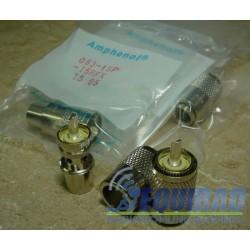 Conector Amphenol USA, PL Macho Para RG-8