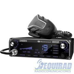 Radio11 Mt, CB Uniden Bearcat 980 SSB 40 Ch.