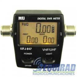 MFJ-847 Wattmeter, Digital, 125-525 Mhz, 120 Vatios