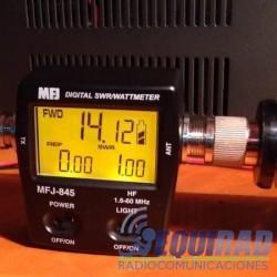 MFJ-845 Digital swr/power/wattmeter Hf, 1.8 A 60 Mhz