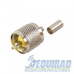 RFU-505 Conector UHF Macho (PL-259) Para RG58