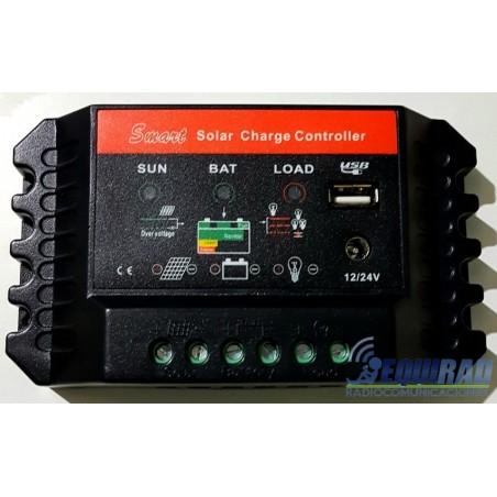 Controlador Carga Solar 12-24/30a Nagashi