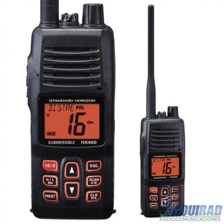HX 400, Radio Portatil Marino STANDARD HORIZON