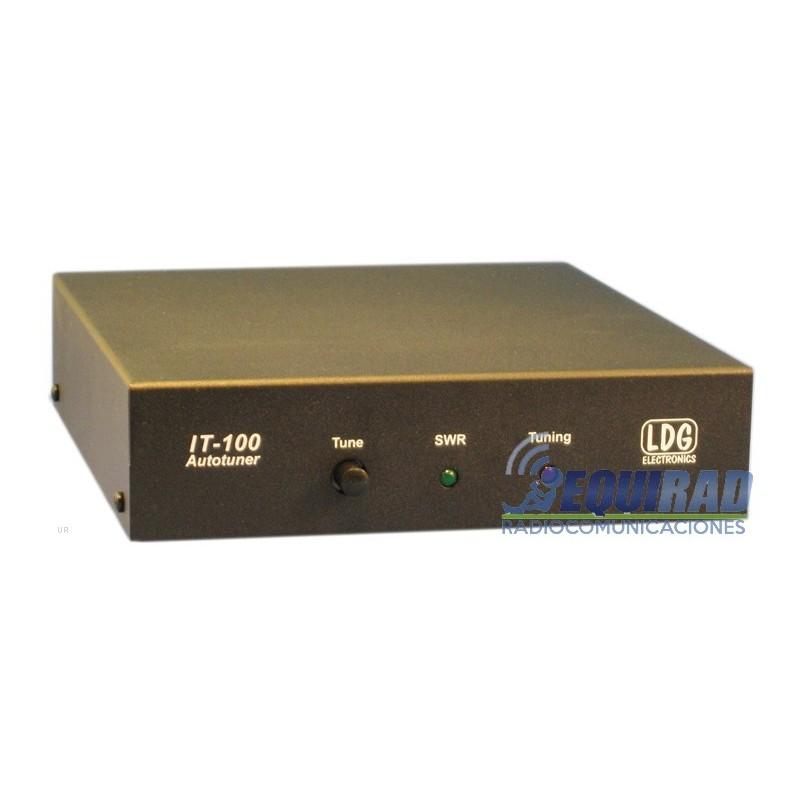 Sintonizador aumático para equipos Icom frente