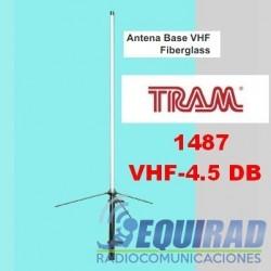 1487 Antena Base Fibra VHF 4.5 DB