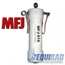 MFJ 918, Balun y Cento De Antena 1:1