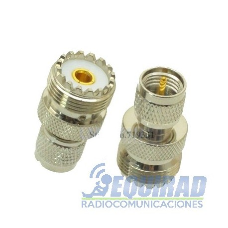 Adaptador Mini UHF a SO239, Móviles Motorola