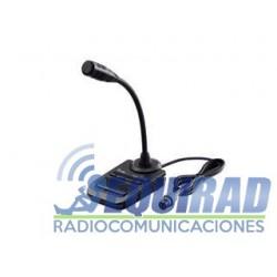 SM30 Micrófono De Pedestal Icom HF.