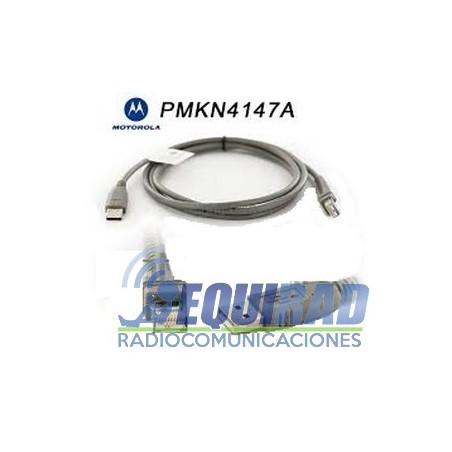 PMKN4147 Cable de Programación Frontal Motorola DEM