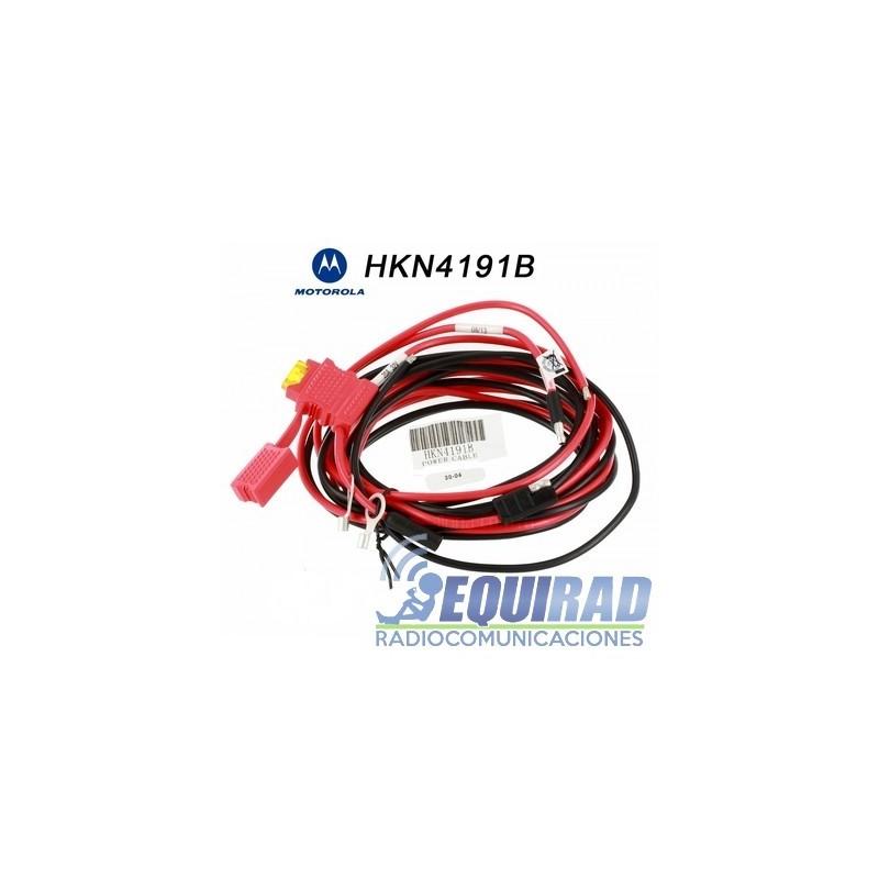 HKN4191 Cable De Alimentación Equipos Motorola
