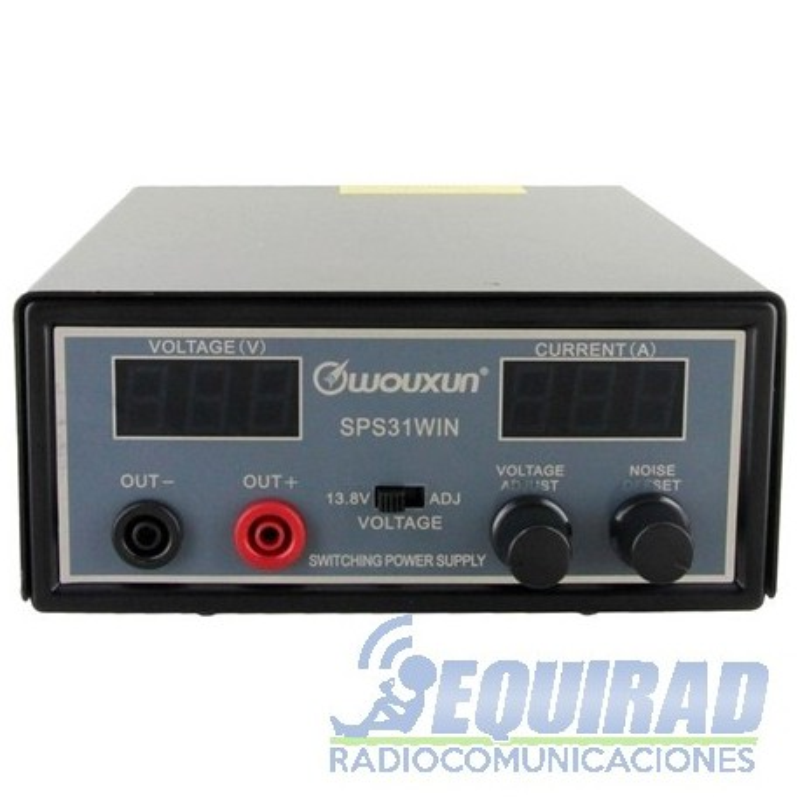Fuente De Poder Wouxun 30 Amp. SPS31WIN