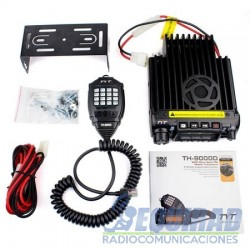 TYT TH9000D, Base Móvil VHF, Banda Corrida 60W.