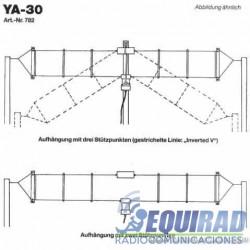 Antena Base HF, Multibanda Yaesu YA-30