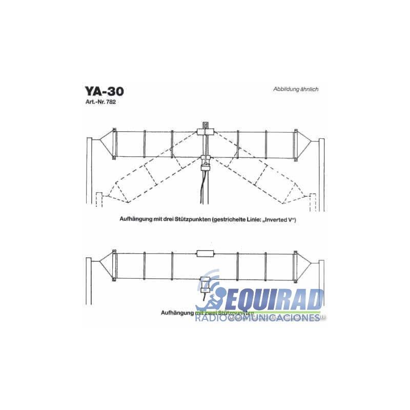 Antena Base Hf Multibanda Yaesu Ya 30