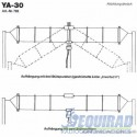 YA-30 Yaesu Antena Base HF, Multibanda