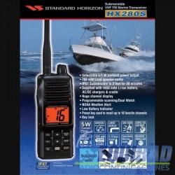 Radio Portátil Marino Standard Horizon HX280S