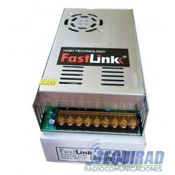 Fuente De Poder Switching 12 V, 30 Amp. Fastlink