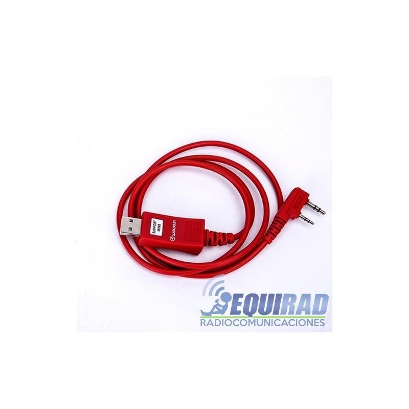 Cable Programación Portátil Kenwood, Wouxun