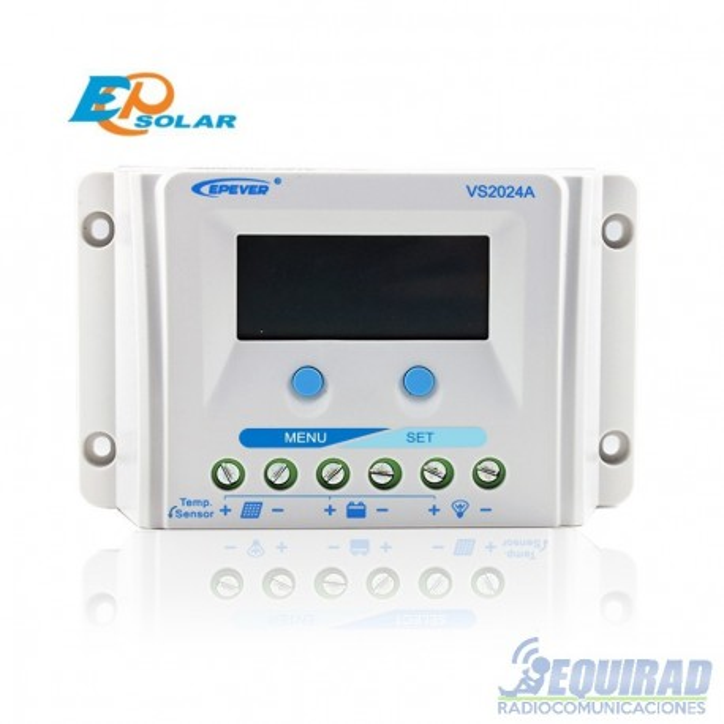 Controlador De Carga Solar VS2024A, EPSolar