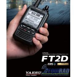 Portátil Yaesu Digital FT2DR, Dual Band