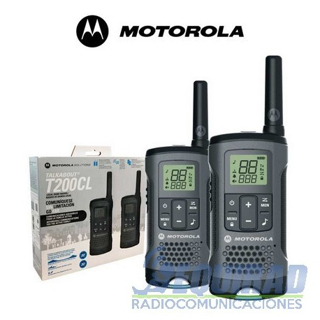 Motorola Talkabout T200CL series dos vías FRS/GMRS