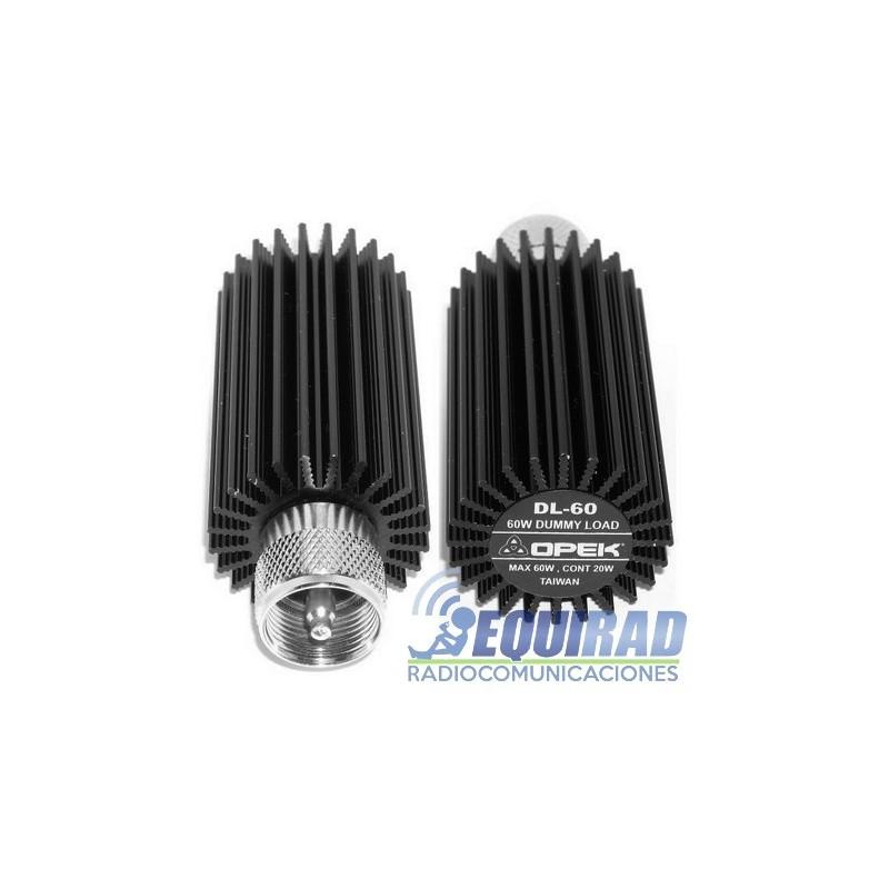 Opek DL-60 Carga Fantasma VHF/ UHF, 50 ohm.