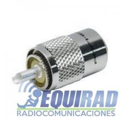 Conector Amphenol USA, PL Macho Para RG-58