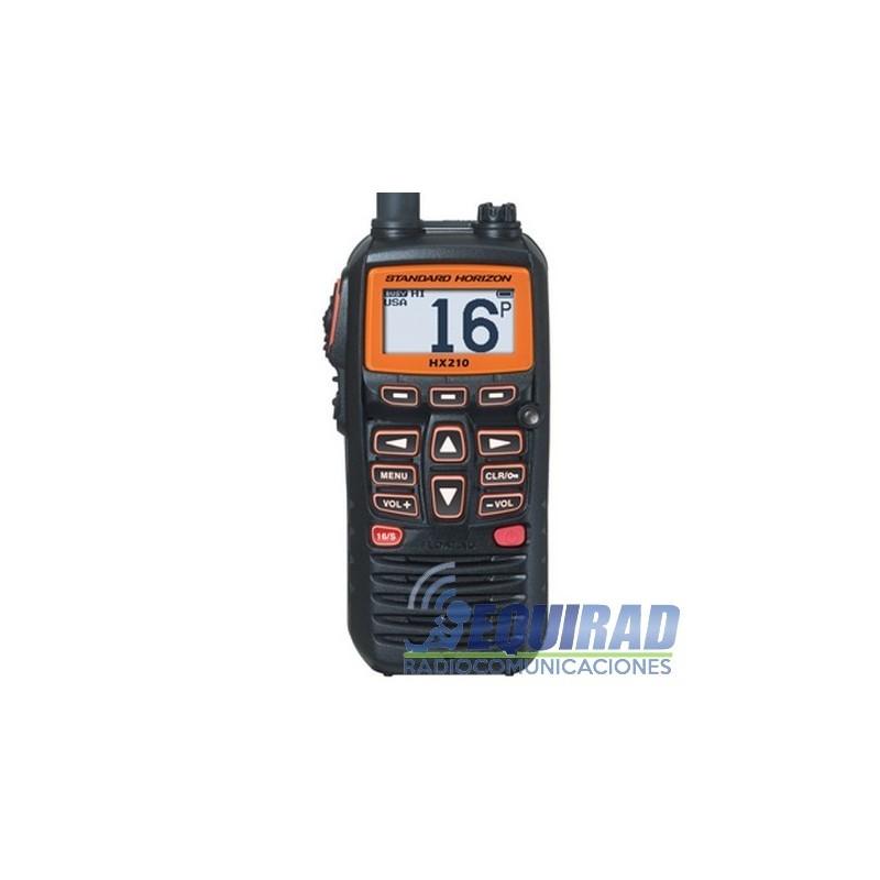 HX210 Radio Portátil Marino Standard Horizon