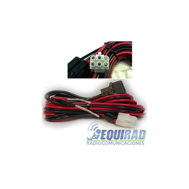 Cable De Alimentación Original Para Equipos HF, 6 Pines