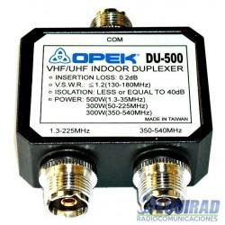 Mini Duplexor Opek DU-500, HF, VHF UHF