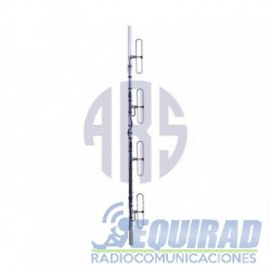 ARS COLV-100/4AX Antena Colineal 4 Dipolos 148-162 mHz.