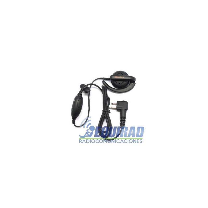 PMLN4443 Micrófono audifóno solapa Mag One (Motorola)