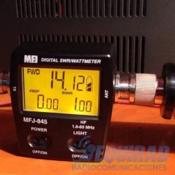 MFJ-845 Digital swr/power/wattmeter Hf, 1.8 A 60 Mhz