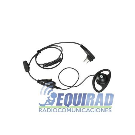 HKLN4599 Auricular Sobrepuesto Con PTT y Micrófono