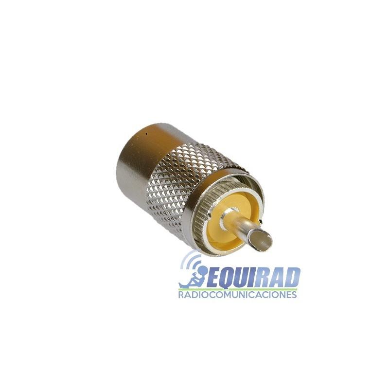 RFU-500 Conector UHF Macho (PL-259) para RG-8, 213, 9913