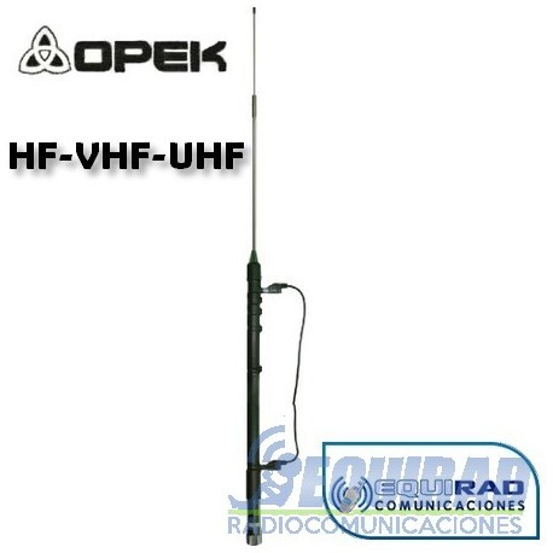 Antena Móvil HF-VHF Opek HVT600