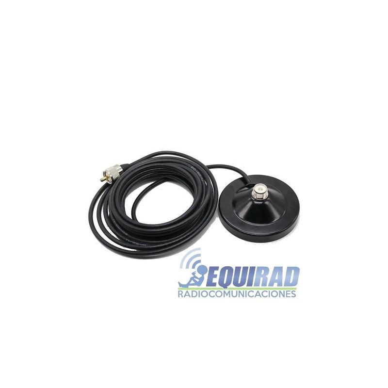 Montaje Magnético De Antena 90mm SO239