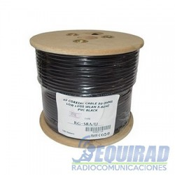 RG-58AU Cable Coaxial Cobre Multifilar 50 Ohm
