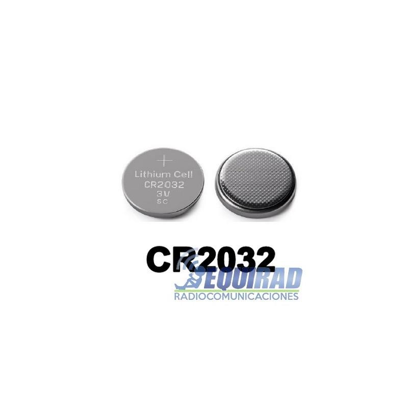 Pila CR2032 3V 210 mA Blister de 5 un.