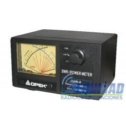 SWR-6L Medidor Roe Potencia 1.8-60 MHz 2 KW