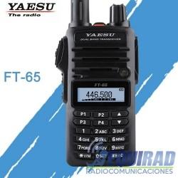Yaesu FT65R Radio Portátil Amateur Dual Band