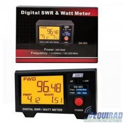 Medidor De Roe y Potencia, Digital NISSEI DG-503 HF / VHF / UHF