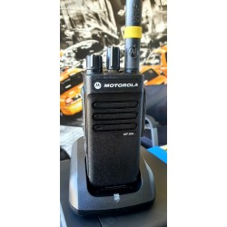 Radio Portátil Motorola DEP550e, VHF, 16 Canales